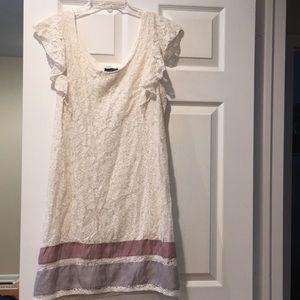 UNWORN American Eagle white lace dress